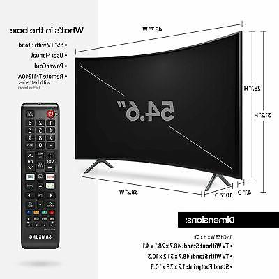 Samsung Curved 55-Inch 4K UHD Ultra with ...