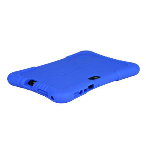 For 7 Inch Soft Silicone Stand Case