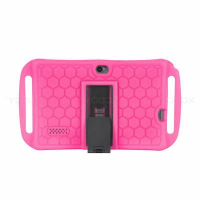 For 7 Android Tablet Shockproof Soft Stand Case