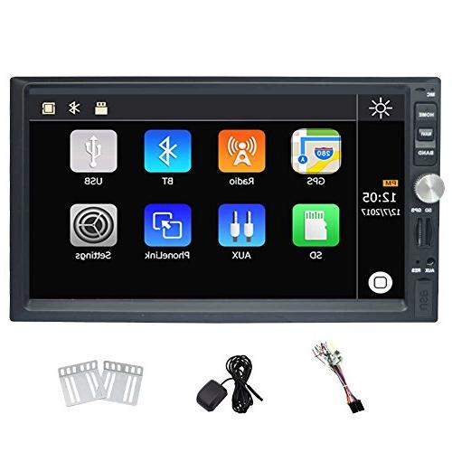 universal double din car stereo