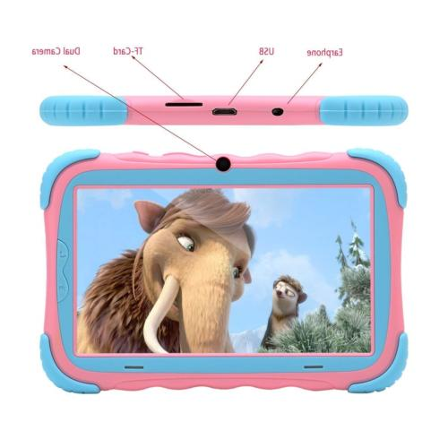 【Upgraded】 iRULU Android Kids Tablet IPS Screen Babypad