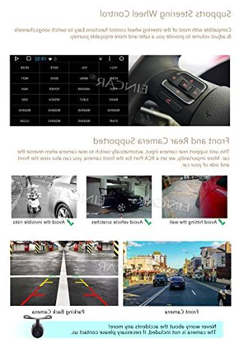 """10.1"""" 7.1 Quad Core Din Car Player in Navigation Receiver Support Subwoofer+Free Reverse"""