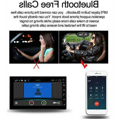 US Inch Din WIFI 8.1 Car Stereo Navigation
