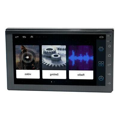 "US 7"" Inch Din WIFI Android Car Navigation Radio #X"