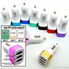 USB Car Charger 3 Port USB Adapter for Samsung Galaxy S5 S4