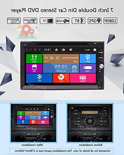 Free Wince Radio Multi-Touchscreen GPS Car DVD Headunits with Bluetooth SWC Free Map Card
