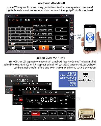 & Remote Wince Double Radio in Multi-Touchscreen GPS DVD Player Headunits with Bluetooth USB SWC + Map Card
