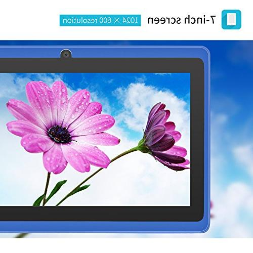 inch 4.4 Tablet HD 1024x600 Dual Camera Google Play Pre-loaded External 3G Skype, Supported