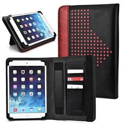 "Maroon Universal Tablet Case 7"" with Built-in Stand Fits Sam"