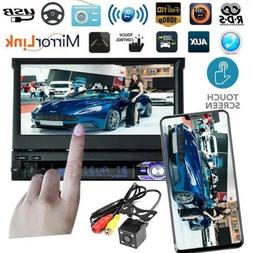 Mirror Link 7 inch Car radio MP5 player 1 DIN bluetooth USB/
