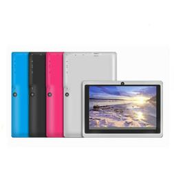 New 7 Inch Android 4.4 Four Core Game Tablet Computer PC Wif