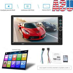 NEW 7 Inch DOUBLE 2DIN Car MP5 Player BT Tou+ch Screen Stere