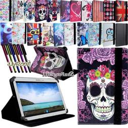 New Folio Stand Leather Cover Case For Samsung Galaxy Tab 2/