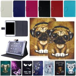 For Onn 7 inch Android Tablet Shockproof PU Leather Folio Fl