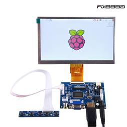 7 inch LCD Panel Digital Screen and Drive Board for Raspberr