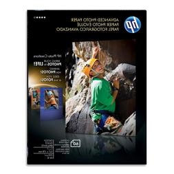 """HP - Photo Paper, Glossy,5""""x7"""",60SH/PK,WE, Sold as 1 Package"""