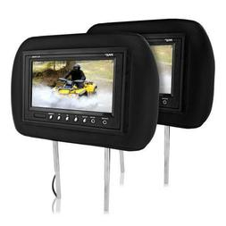 "Pyle PL71PHB Headrest Pair with Built-in 7"" TFT-LCD Monitors"