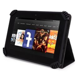 Zeki TBDG734B 7 Inch Tablet Case, UniGrip Edition - BLACK -