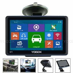 Portable 7'' Auto Car GPS Navigation Sat Nav w/ All America