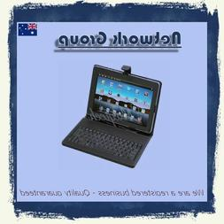 """PU material 7"""" inch Tablet USB Keyboard Case Cover Android W"""