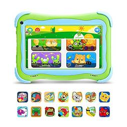 YUNTAB Q91 Kids 7 inch Tablet, Android 8.1OS, 16GB Storage,