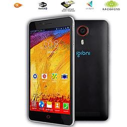 """Indigi 5.5"""" QHD Capacitive Android 4.4 DualSim 3G Support Sm"""