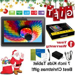 "KOCASO Quad Core 7"" Inch 8GB Kids Tablet PC Android 4.4 Dual"