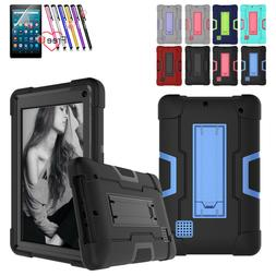 For RCA Voyager 7 Inch Tablet Case Hybrid Rugged Heavy Duty