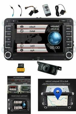 Reversing Camera + EinCar Double Din 7 Inch Car Stereo Radio