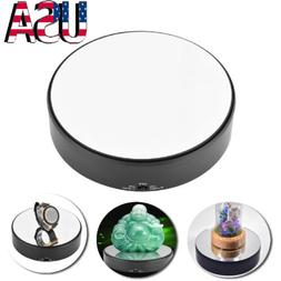Rotating Mirror Top Display Stand 7 inch Battery Operated Je