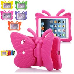 For Samsung Tablet 7 inch Kids Safe Butterfly Stand Rubber S