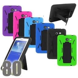 Shockproof Hybrid Heavy Duty Combo Stand Box Hard Case Cover