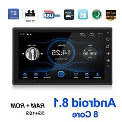 Single 1 DIN Bluetooth Car Stereo <font><b>GPS</b></font> <f