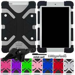 """Soft Silicone Shockproof Stand Cover Case For 7"""" 8""""  IRULU T"""