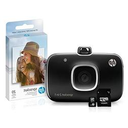 HP 5MS96A Sprocket 2-in-1 Portable Photo Printer & Instant C