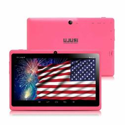 Tablet Android 7 inch Dual Camera Wi-Fi Bluetooth Quad Core
