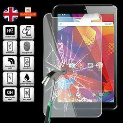 Tablet Tempered Glass Screen Protector Cover For Argos Alba