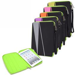 Universal 6 - 8 inch Tablet Nylon Sleeve Pouch Case Cover MI