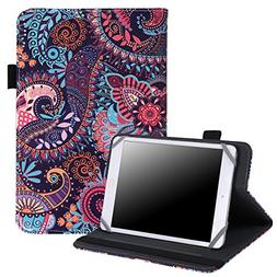 Universal Case for 7/8 Inch Tablet - Folio Cover Protective