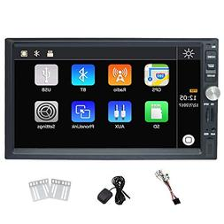 7 Inch Universal Double Din Car Stereo Win CE Operation Syst