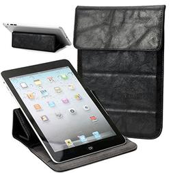 NuVur Universal Faux leather Stand & Case fits Skytex Imagin