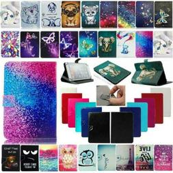 Universal For RCA 7/10 inch Tablet Folding Folio PU Leather