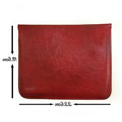 universal tan brown leather tablet