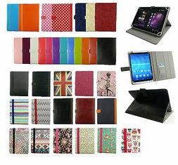 Universal Wallet Case Cover Stand fits Aoson M701FD Tablet P