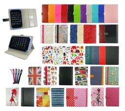 Universal Wallet Case Cover Stand fits LeaningTech LM700 7 I