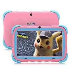 【Upgraded】 iRULU 7 inch Android 7.1 Kids Tablet IPS HD S