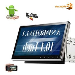 """10.1"""" Upgraded Android 7.1 Quad Core Double Din Car Stereo C"""