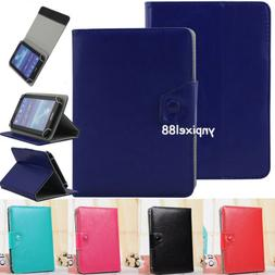 """US For 7- 10.1"""" inch tablet PC Universal Crazy Horse PU Leat"""