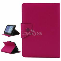 """US For 7"""" ~ 10.1"""" inch Tablets Rose Universal PU Folio Leath"""