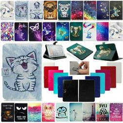 """US For Onn 7"""" 8"""" 10.1"""" Android Tablet Universal Leather Case"""